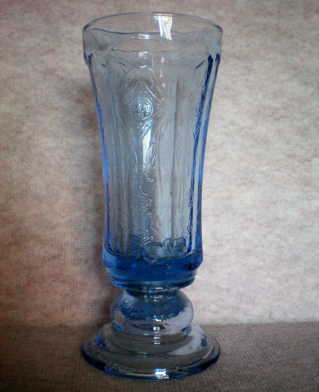 Indiana Glass Blue Vase / Urn