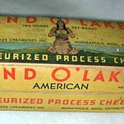 Land O' Lakes Pasturized Process Cheese box