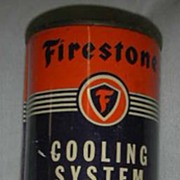 Firestone cooling System Cleaner Radiator Conditioner Tin