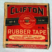 Clifton Rubber Tape in Orig. Box