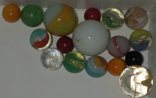 17 Mixed Marbles