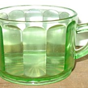 Green Wide Vertical Creamer
