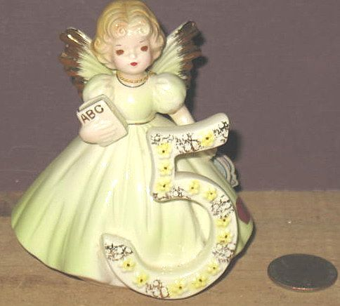 Josef Original's 5th Birthday Angel in Small Size