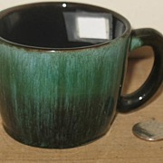 REDUCED Blue Mountain Terra Cotta Pottery Mug