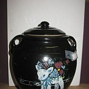 Made In The USA Hand Painted Lamb Cookie Jar