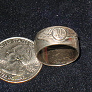 SALE Marked North Central Airlines Sterling Ring