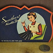 SALE Sweetheart Needle Book