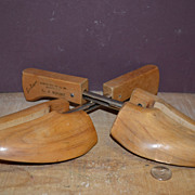 SALE Set of Wooden Shoe Stretchers By Rochester Shoe Tree Co. Inc.