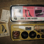 SALE GE Electric Shoe Shine Polisher in Case