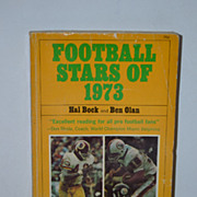SALE Football Stars of 1973 Paperback by Hal Bock and Ben Olan.