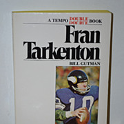 SALE Fran Tarkenton/ Bob Griese Paperback Book by Bill Gutman