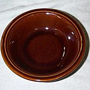 Homer Laughlin Fiesta amberstone sauce or berry bowl