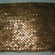 U. S. Zone German Gold Mesh Wallet