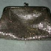 Whiting Davis Silver Mesh coin purse