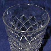 Waterford 'Tyrone' Water Tumbler, Cut Crystal