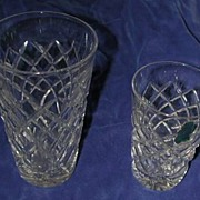 Waterford 'Tyrone' Cut Crystal Juice Tumbler