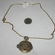 Avon 5001 Antiqued Watch Locket