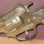 Hubley Early 1940's Trooper Toy Cap Gun