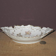Early Unmarked  Relish Bowl or Dish