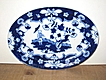 Flow Blue 'Pekin' Royal Staffordshire Wilkinson Platter