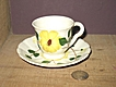 Blue Ridge Dixie Dogwood Demitasse Cup & Saucer