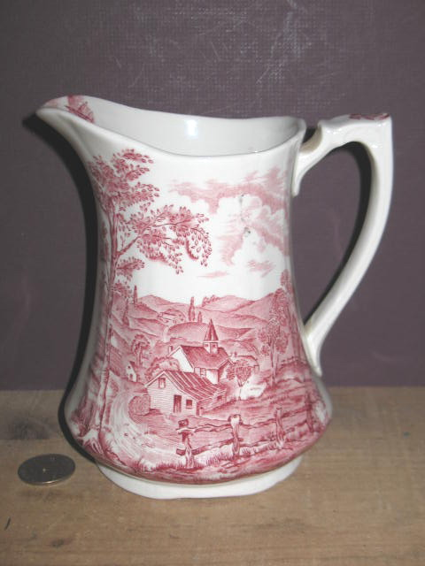 Alfred Meakin Staffordshire  Reverie Milk Pitcher