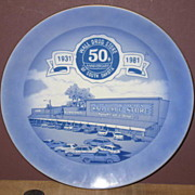 Wall Drug 50th Anniversary Commemorative Plate