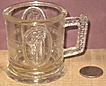 1800's Pattern Glass Cupid and Venus Child's Cup