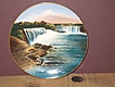 German Jonroth Souviner Plate of Niagara Falls