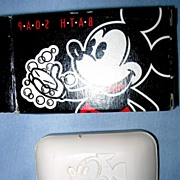 Mickey Mouse Soap in Box