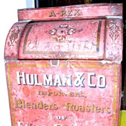 Hulman & Co. Tin Country Store Coffee Bin