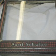 SALE PENDING Paul Schulz  Country Store Display Lid