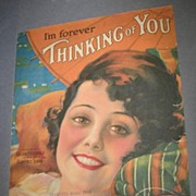I'm Forever Thinking of You Sheet music Armstrong Cover