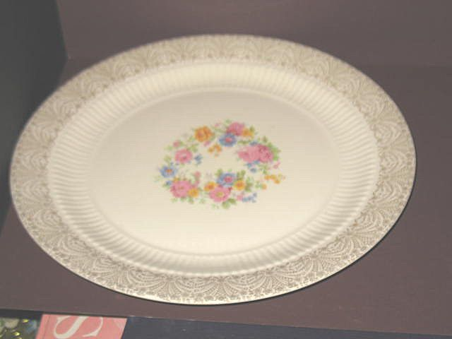 Royal China Charger or Chop Plate