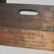 Walter Baker & Co. Paris Expo 1900 Implement Box