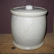 red Wing Stoneware Cookie Jar