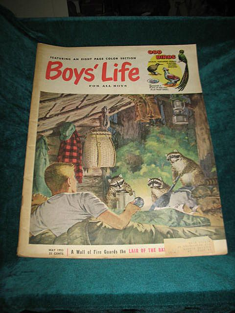 Boys Life Magazine May 1953
