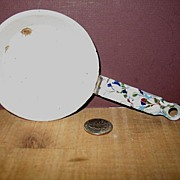 Childs Miniature Graniteware Fry Pan End of Day Confetti