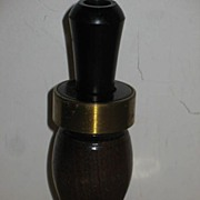 Walnut Tulip Shaped Duck Call.