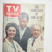 REDUCED 1963 TV Guide. The Courtship of Sam Jaffe on the Cover