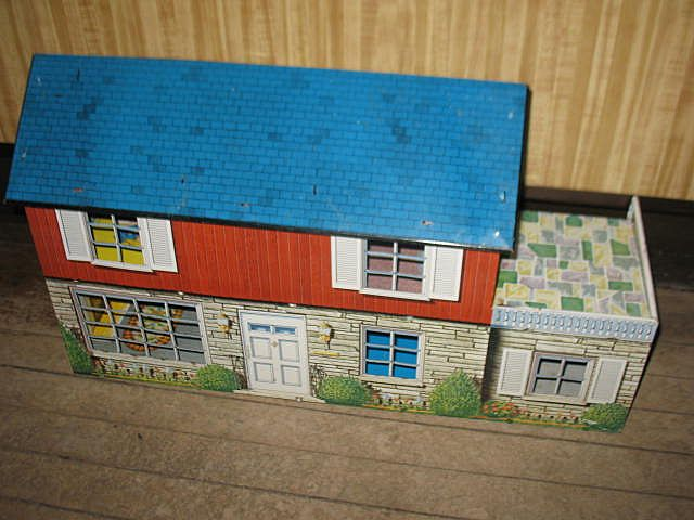 Marx Tin Litho Doll House