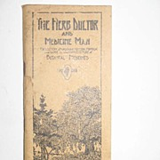 REDUCED The Herb Doctor and Medicine Man Booklet