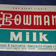 Bowman Milk Needle Case