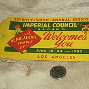 REDUCED 1950 Freight Ticket