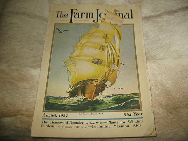 August 1927 Farm Journal