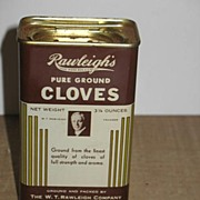REDUCED Rawleigh's Cloves Tin