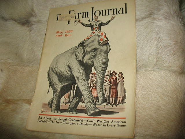 May 1926 Farm Journal Magazine