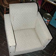 Child's Naugahide Swivel Chair