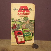 REDUCED 1960 Armour Fertilizers Pocket Book