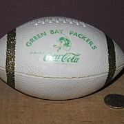REDUCED Green Bay Packers and Coca Cola Toy Football.